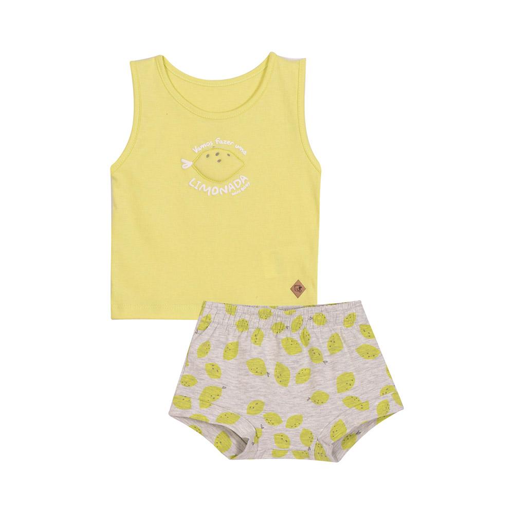 Conjunto Banho de Sol Lemon Nini Bambini