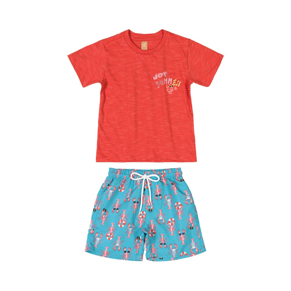 Conjunto Beach Up Baby