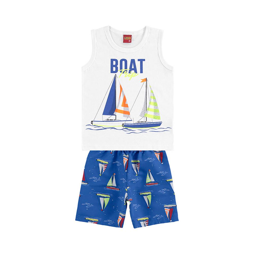 Conjunto Boat Branco Kyly