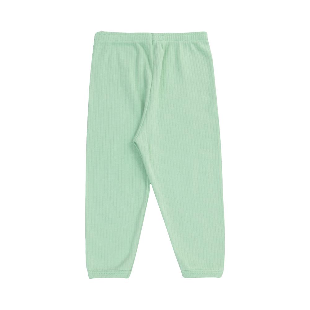 Conjunto Body e Calça Canelado 100% algodão Verde