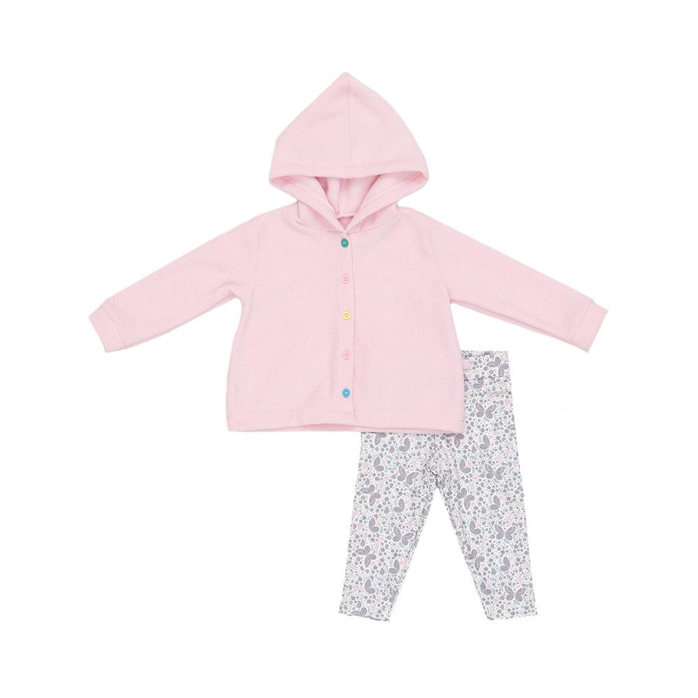 Conjunto Bouclê Rosa Baby Gut