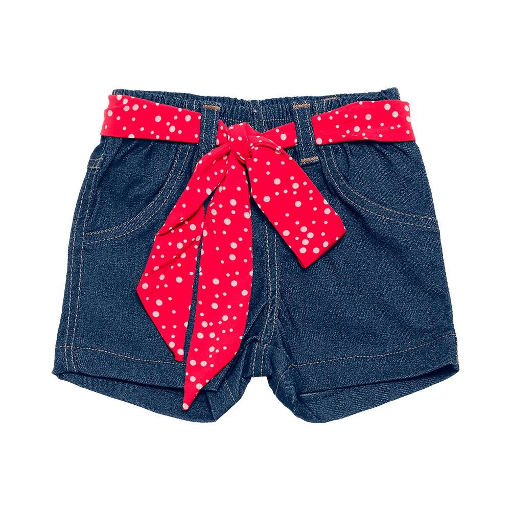 Conjunto Cachorrinho Jeans