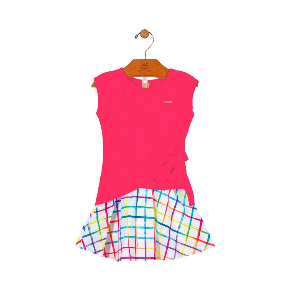 Conjunto Classic Pink com Shorts embutido
