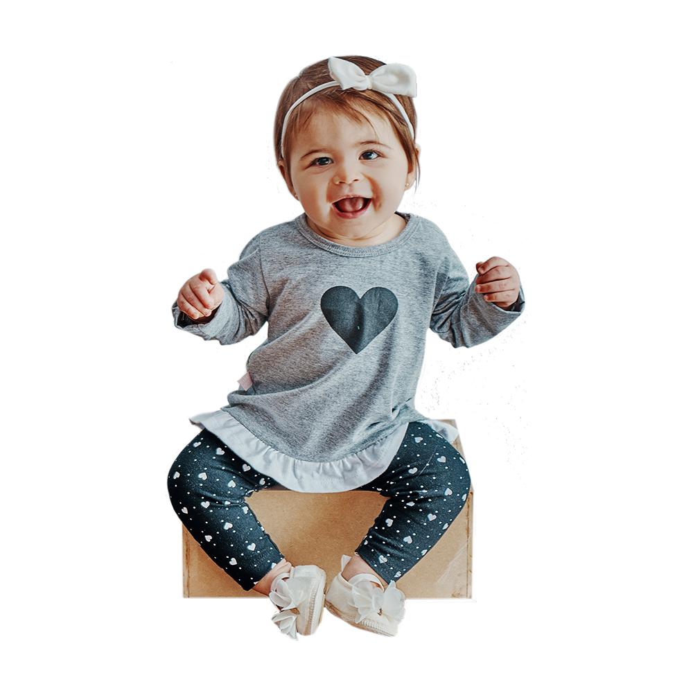 Conjunto Coração Baby Gut