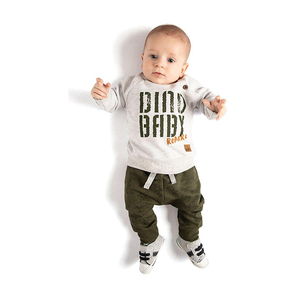 Conjunto Dino Baby Mescla