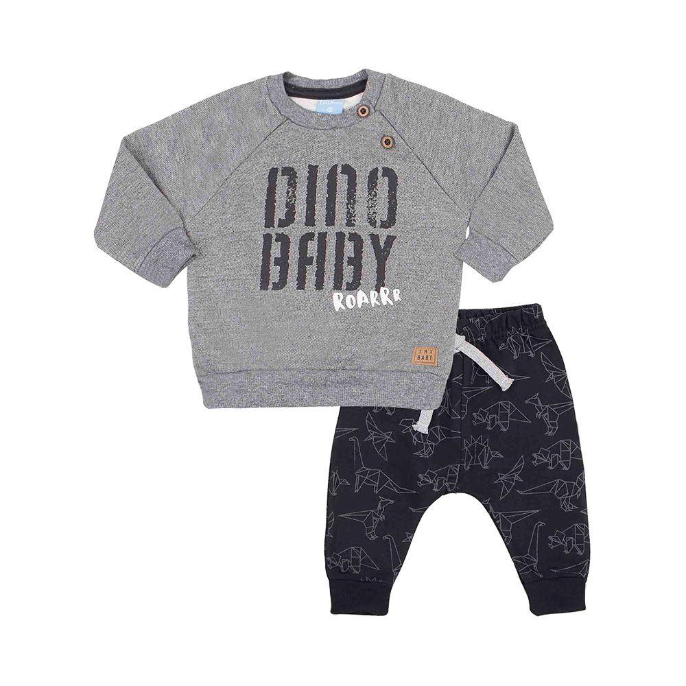 Conjunto Dino Baby Grafite