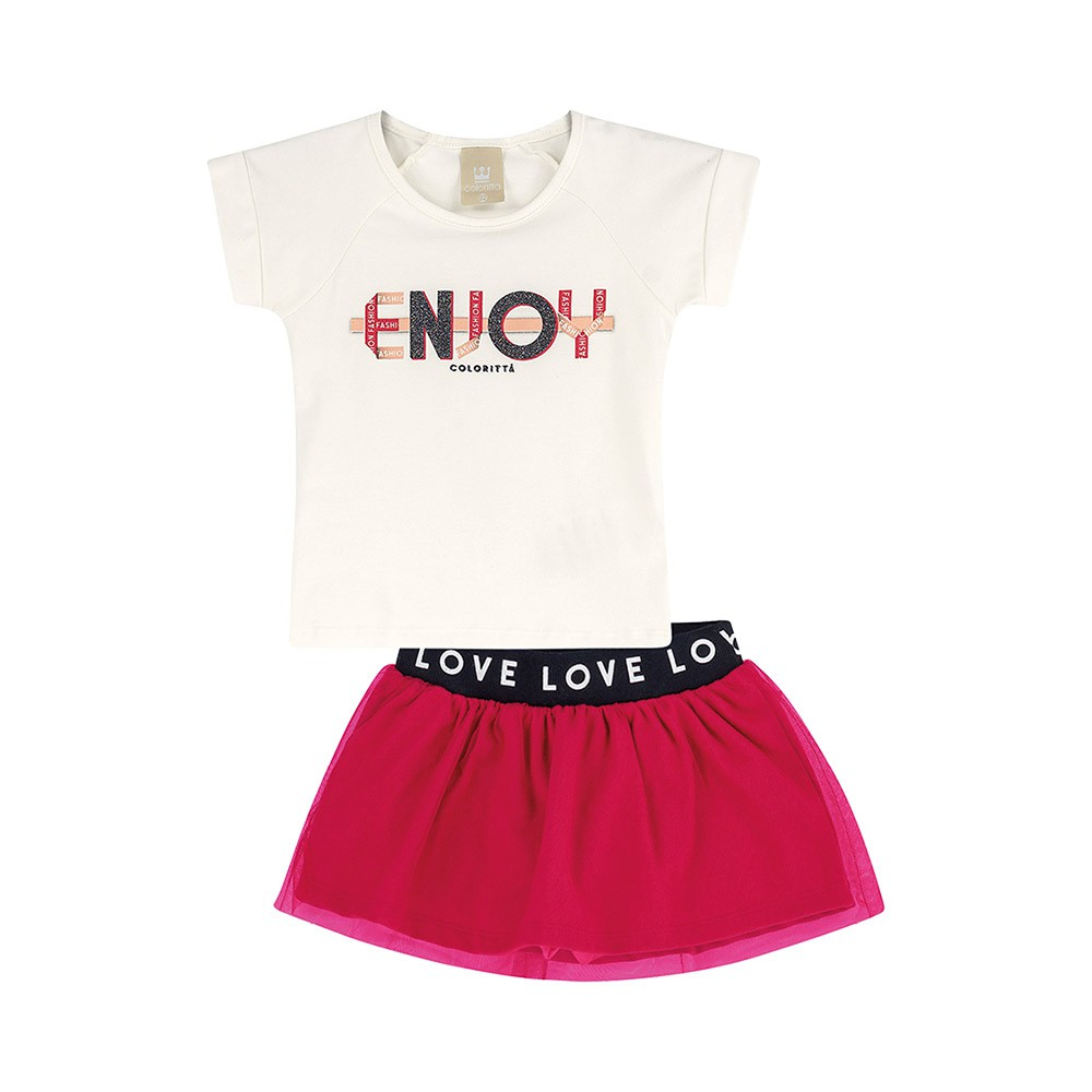 Conjunto Enjoy Pink