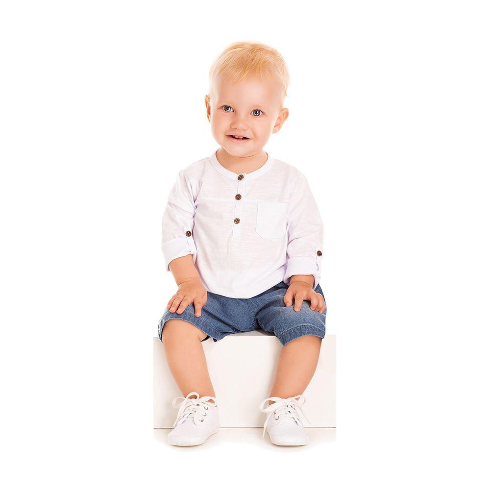 Conjunto Fashion Boy Com Jeans