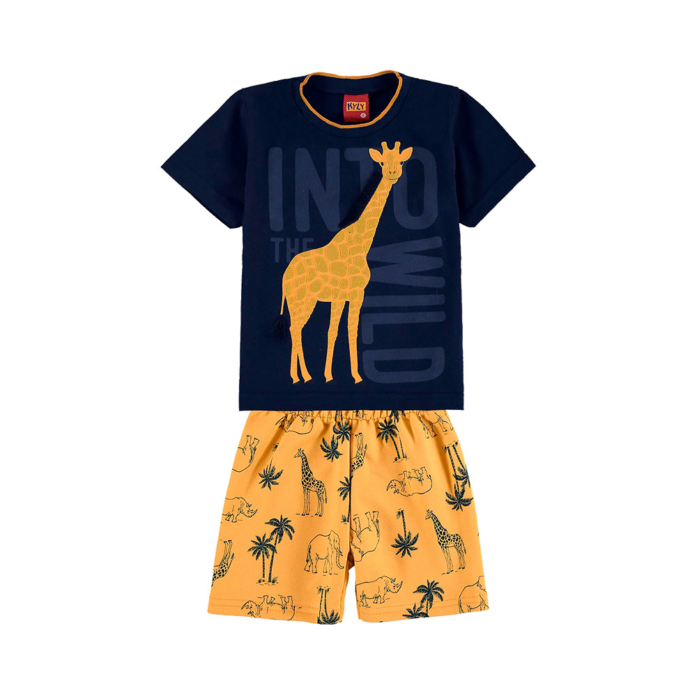 Conjunto Girafa Marinho Kyly