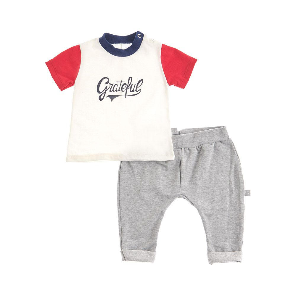 Conjunto Grateful Baby Gut