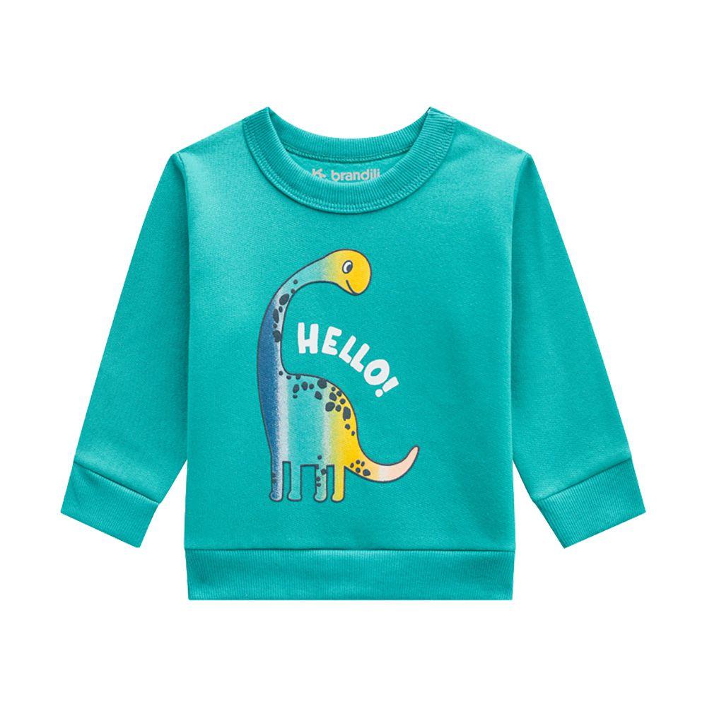 Conjunto Hello Dino Verde