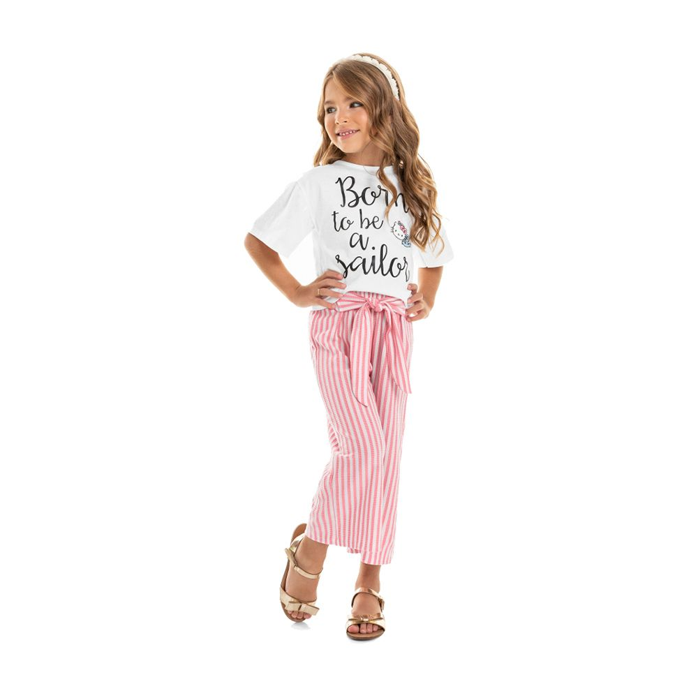 Conjunto Hello Sailor com Pantacourt