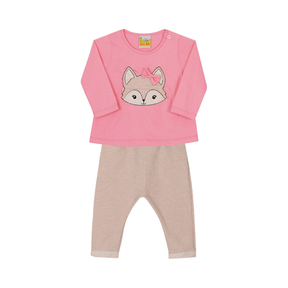 Conjunto Little Fox Jacalelé