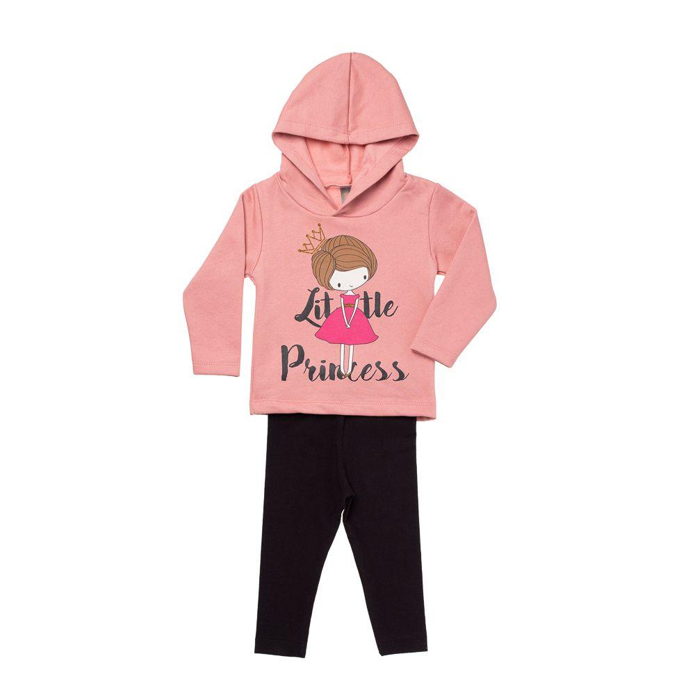 Conjunto Little Princess Rosa Blush