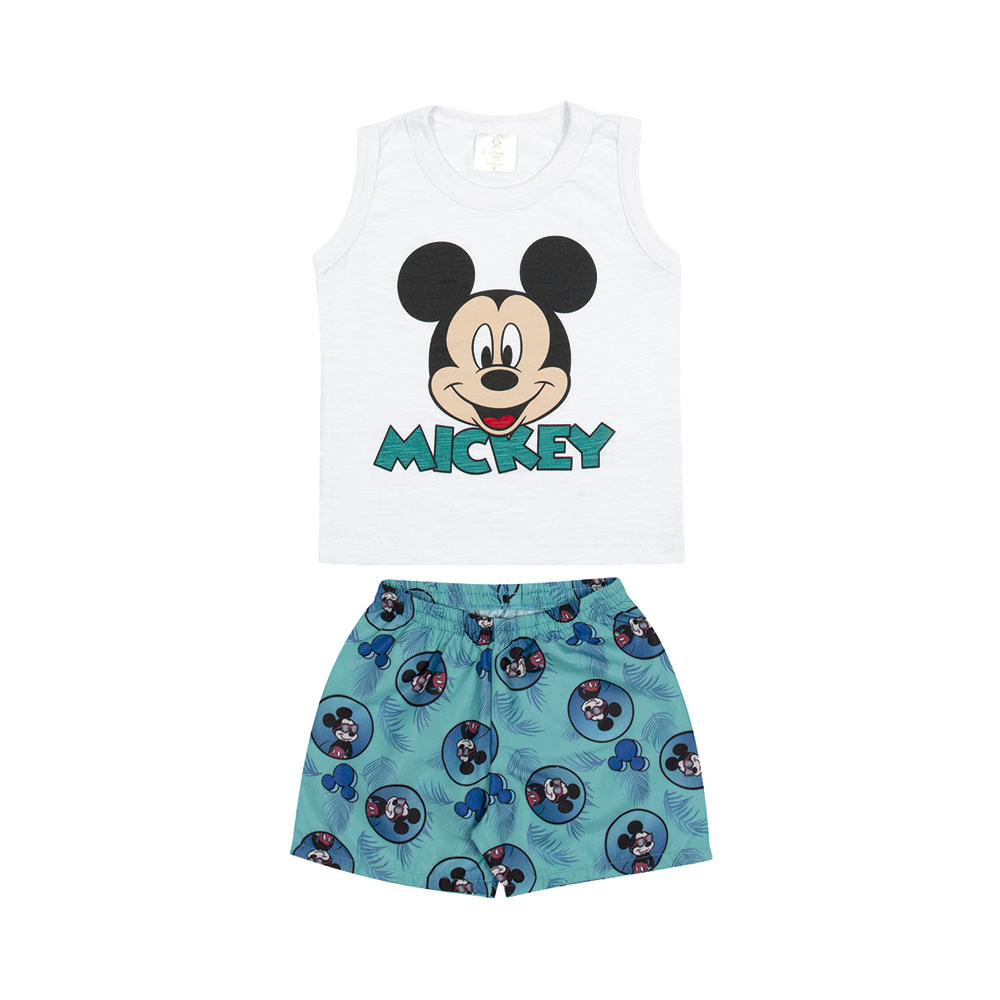 Conjunto Mickey Férias - Produto Oficial Disney