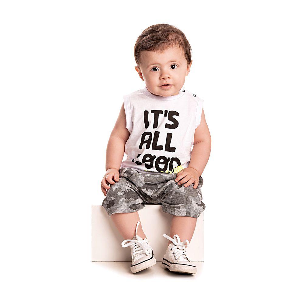 Conjunto Military Baby
