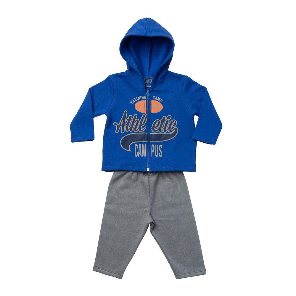 Conjunto Moletom Athletic Azul