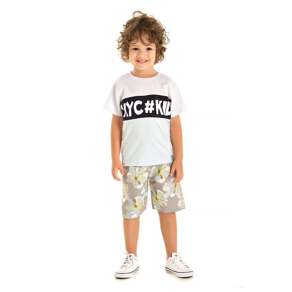 Conjunto Nyc Kid Branco