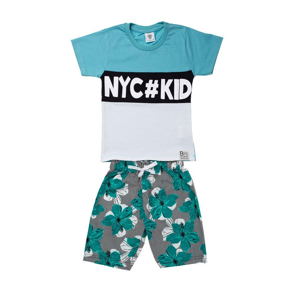 Conjunto Nyc Kid Verde