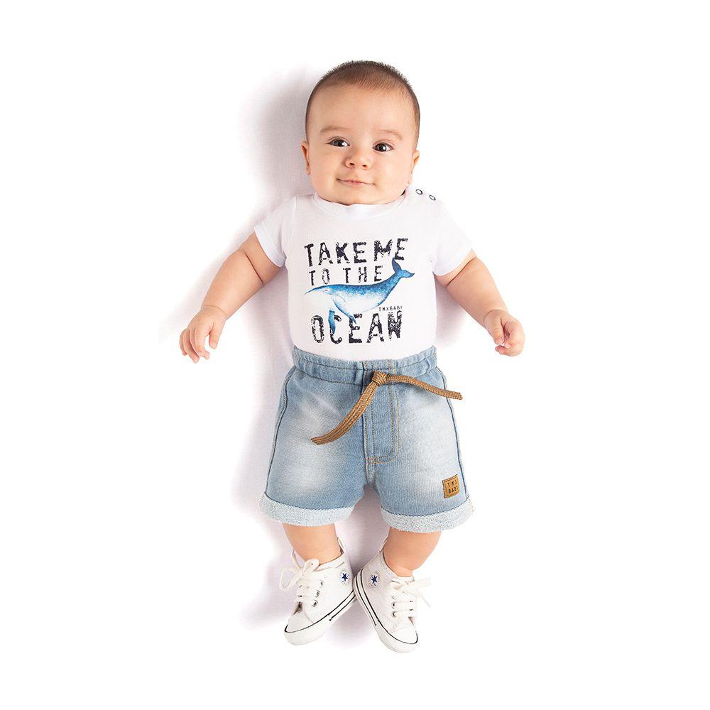 Conjunto Ocean Baby com Body