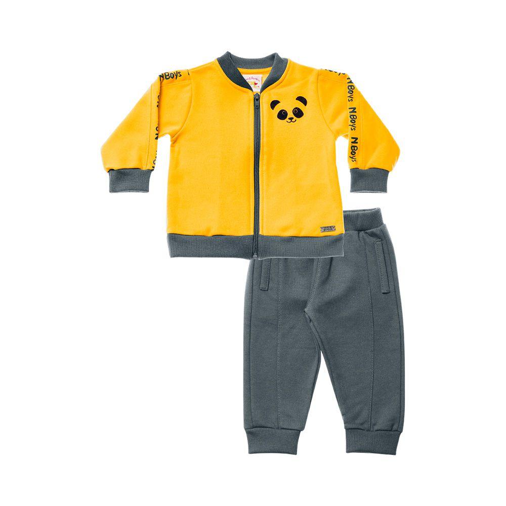 Conjunto Panda Yellow