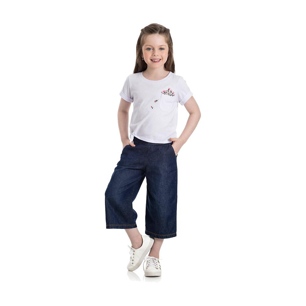 Conjunto Pantacourt Jeans