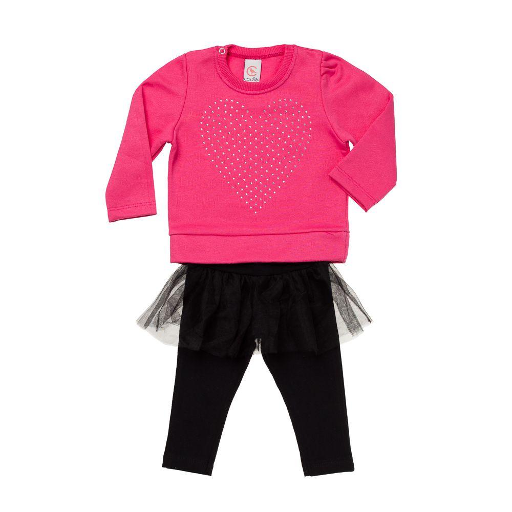 Conjunto Pequena Bailarina Pink