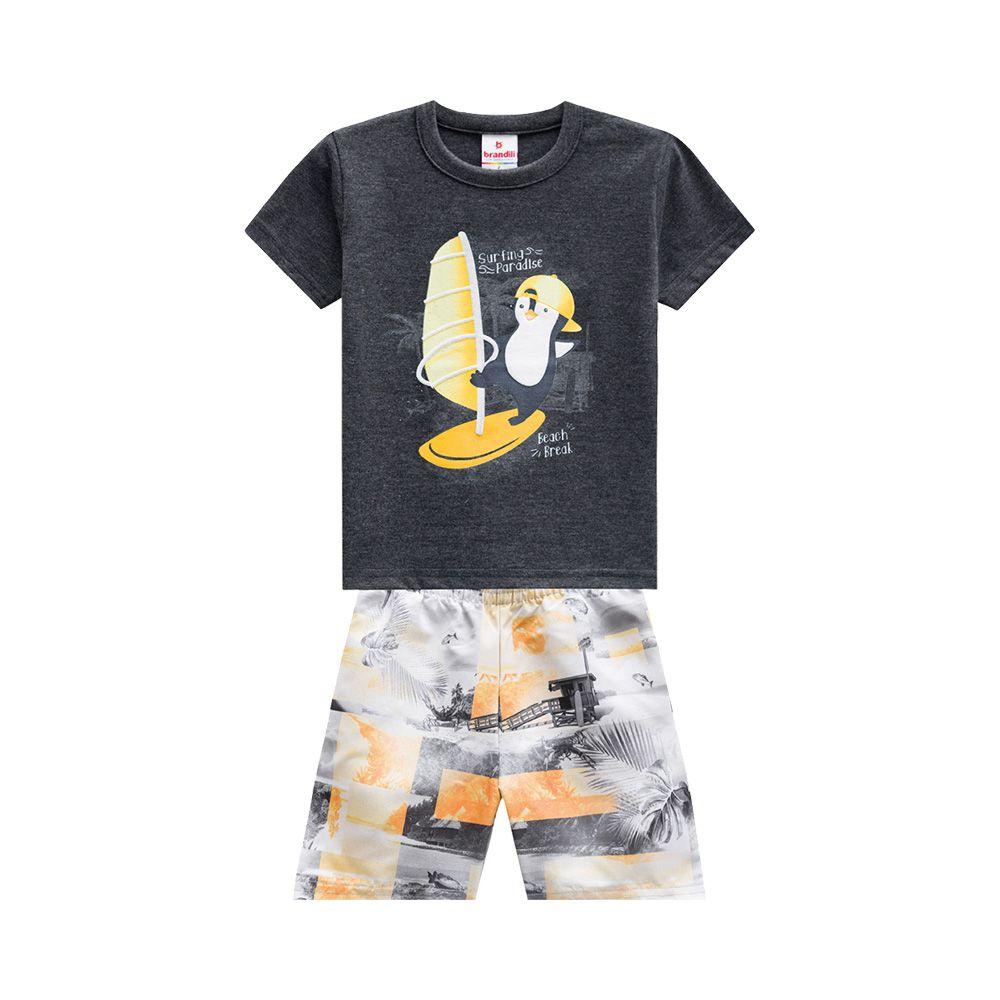 Conjunto Pinguim Surfista