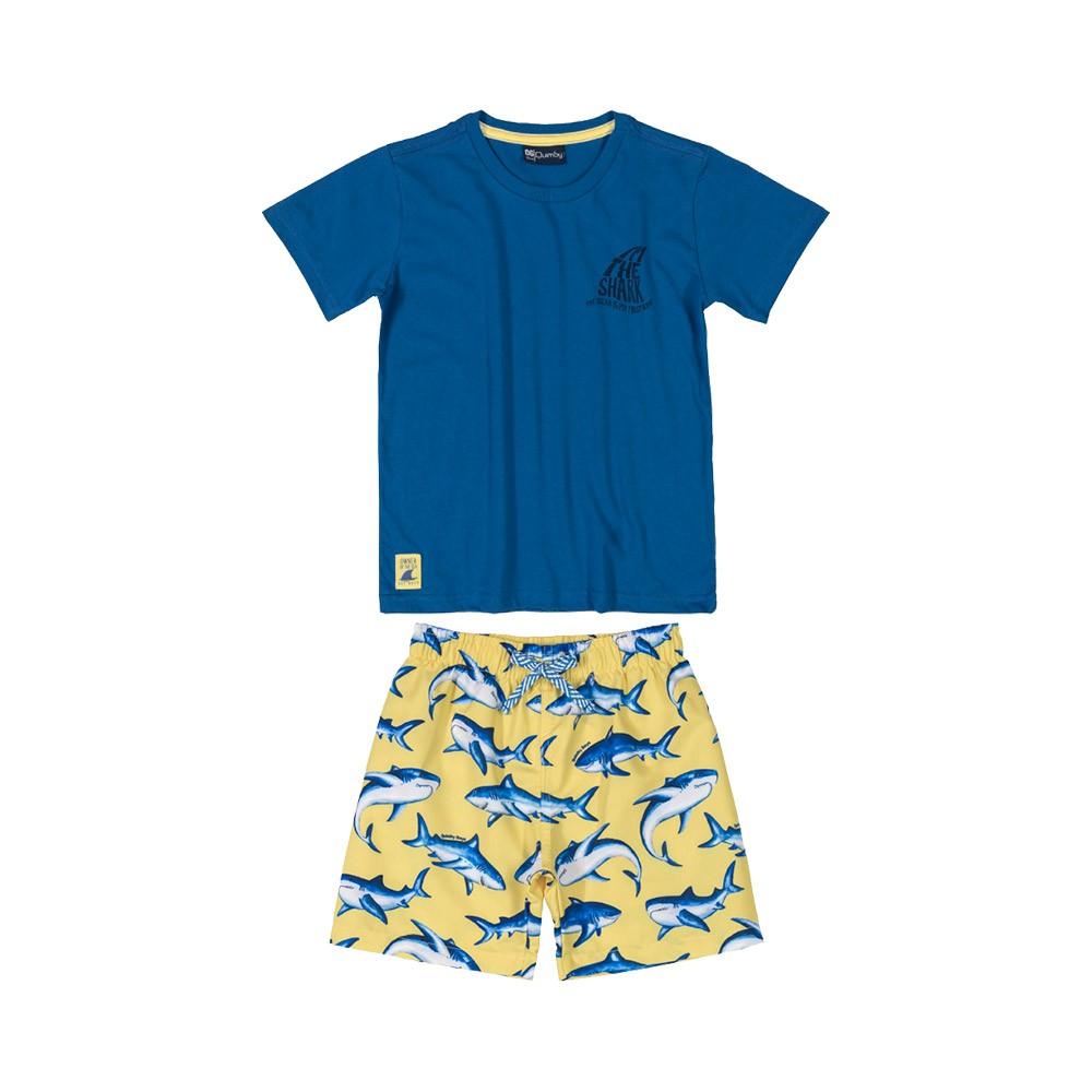 Conjunto Shark Azul