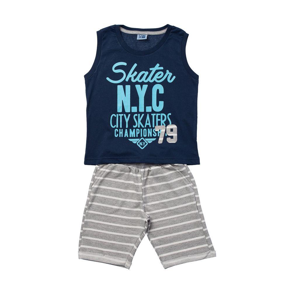 Conjunto Skater NYC Azul
