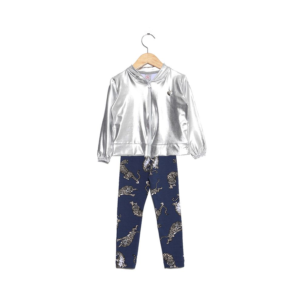 Conjunto Space Girl Prata