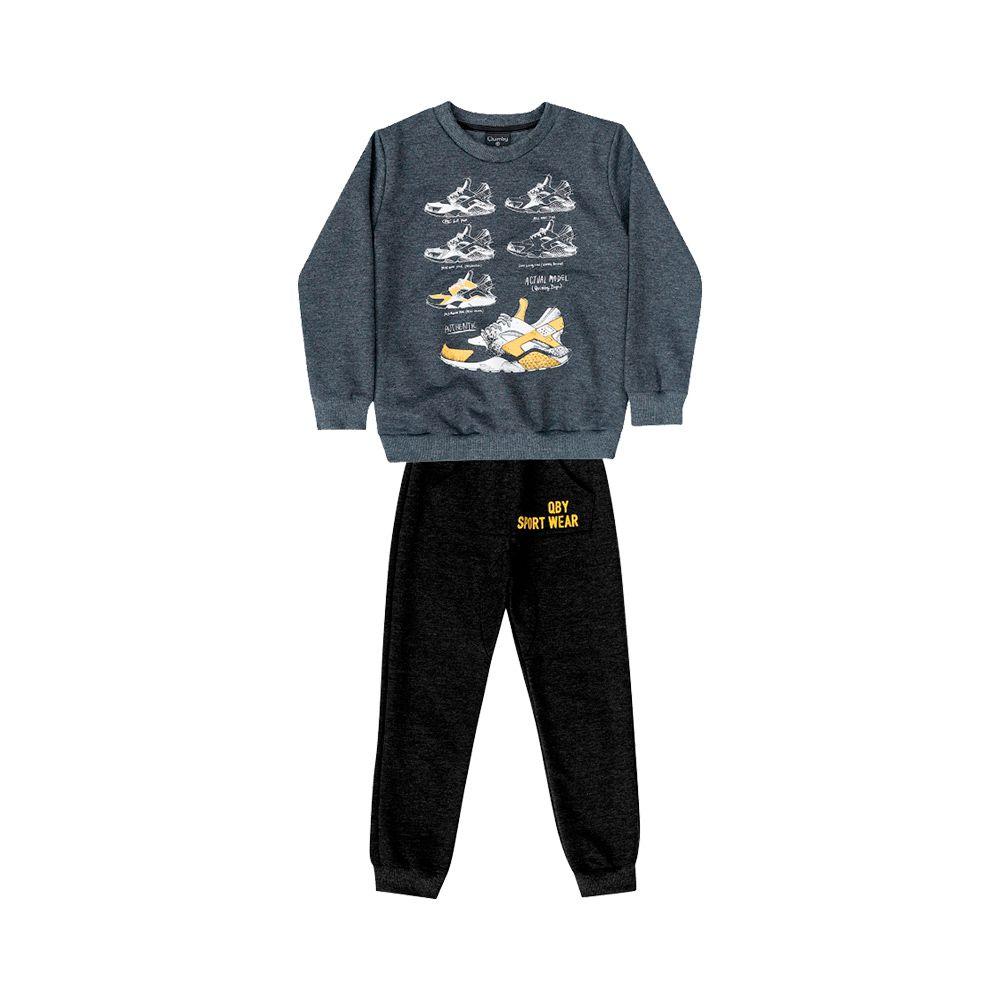 Conjunto Sport Wear Cinza