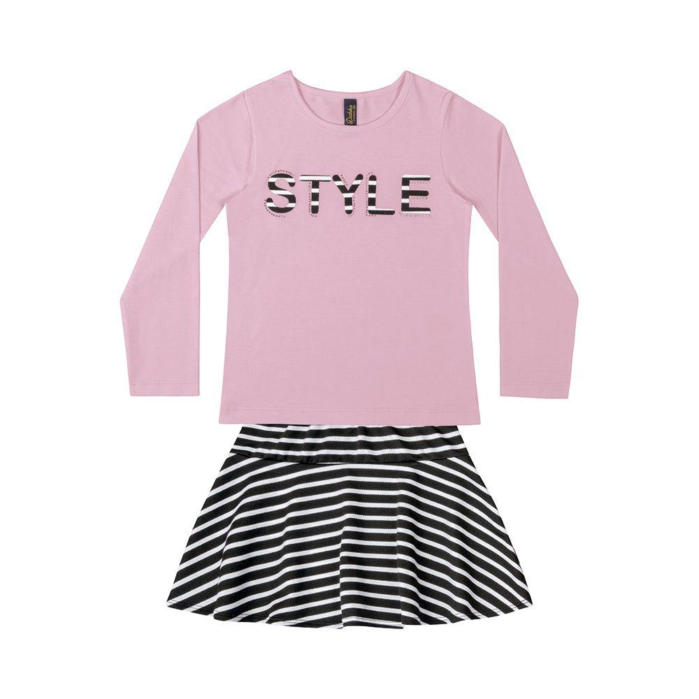 Conjunto Style Rosa