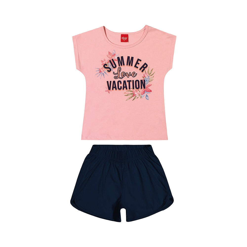 Conjunto Summer Vacation Rosa