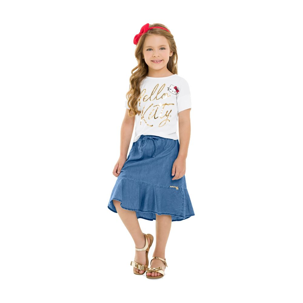 Conjunto Super Model Hello Jeans
