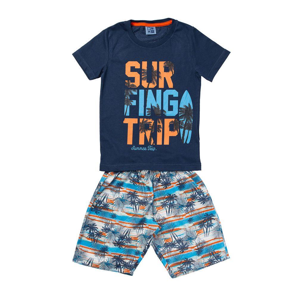 Conjunto Surfing Trip Azul