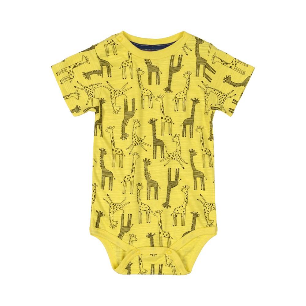 Conjunto Suspensório Girafinha Amarelo