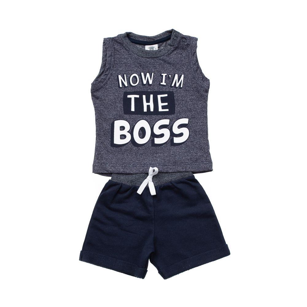 Conjunto The Boss Marinho