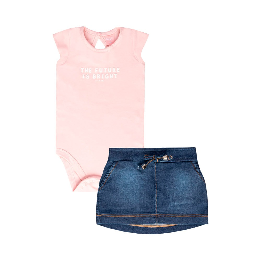 Conjunto The Future Is Bright Rosa