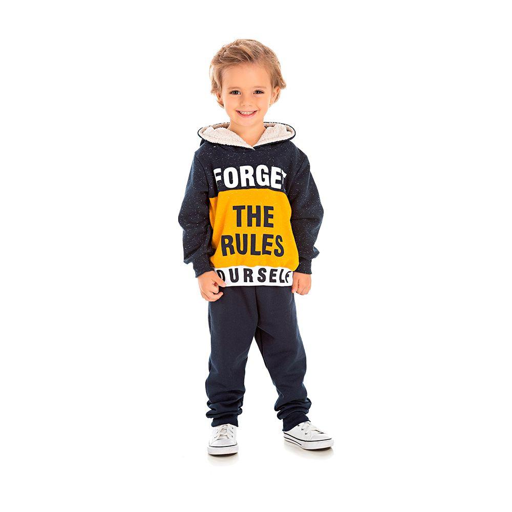 Conjunto The Rules marinho