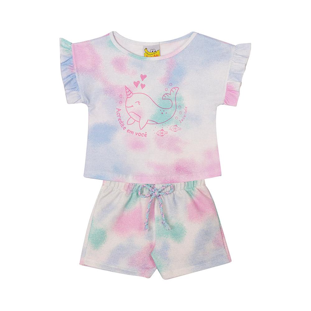 Conjunto Tie Dye Baby Jacalelé