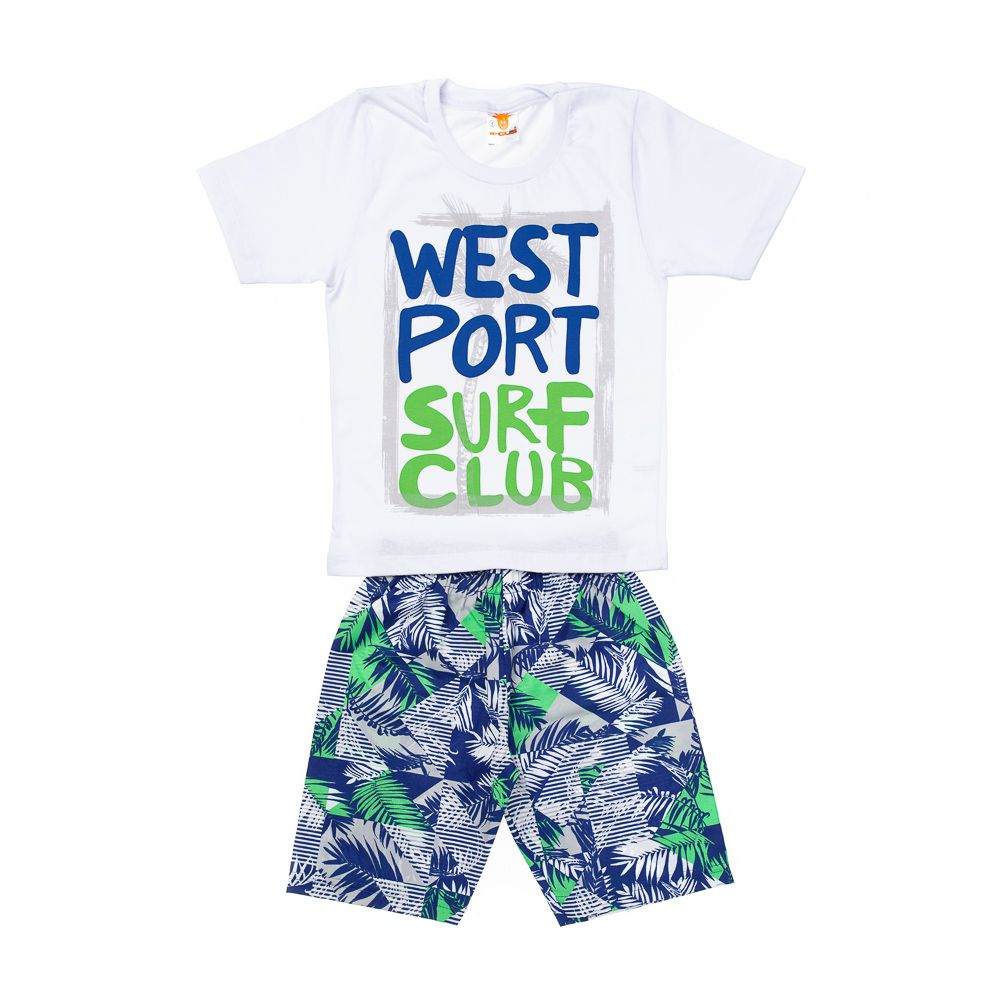 Conjunto West Port Branco