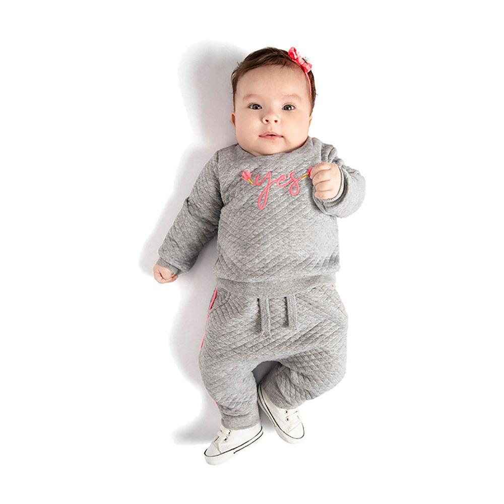 Conjunto Yes Baby Mescla