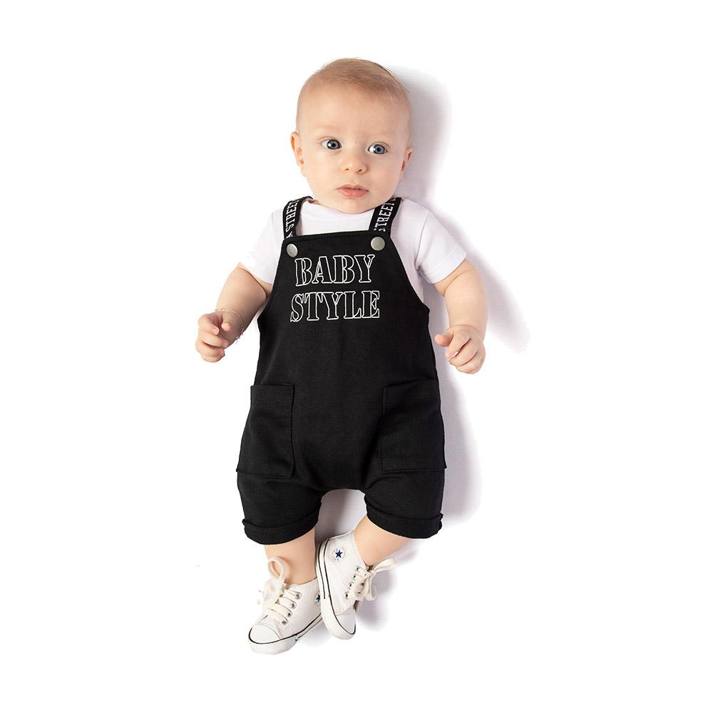 Jardineira Baby Style TMX com Body