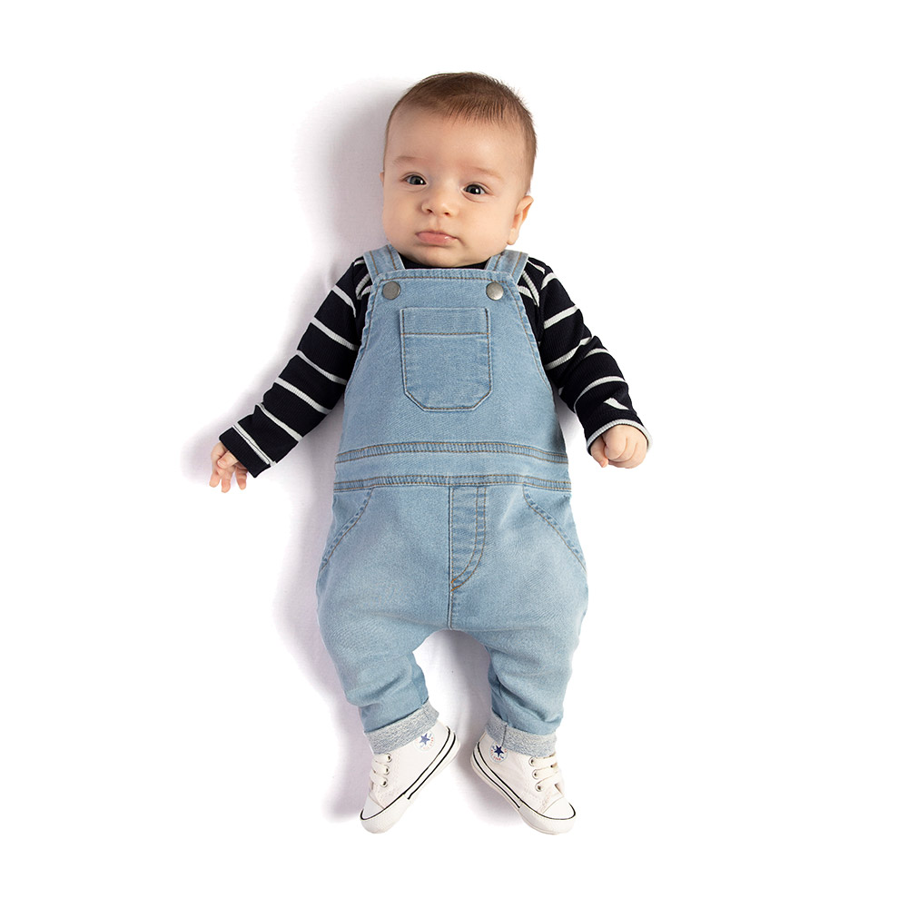 Jardineira em Jeans Confort TMX