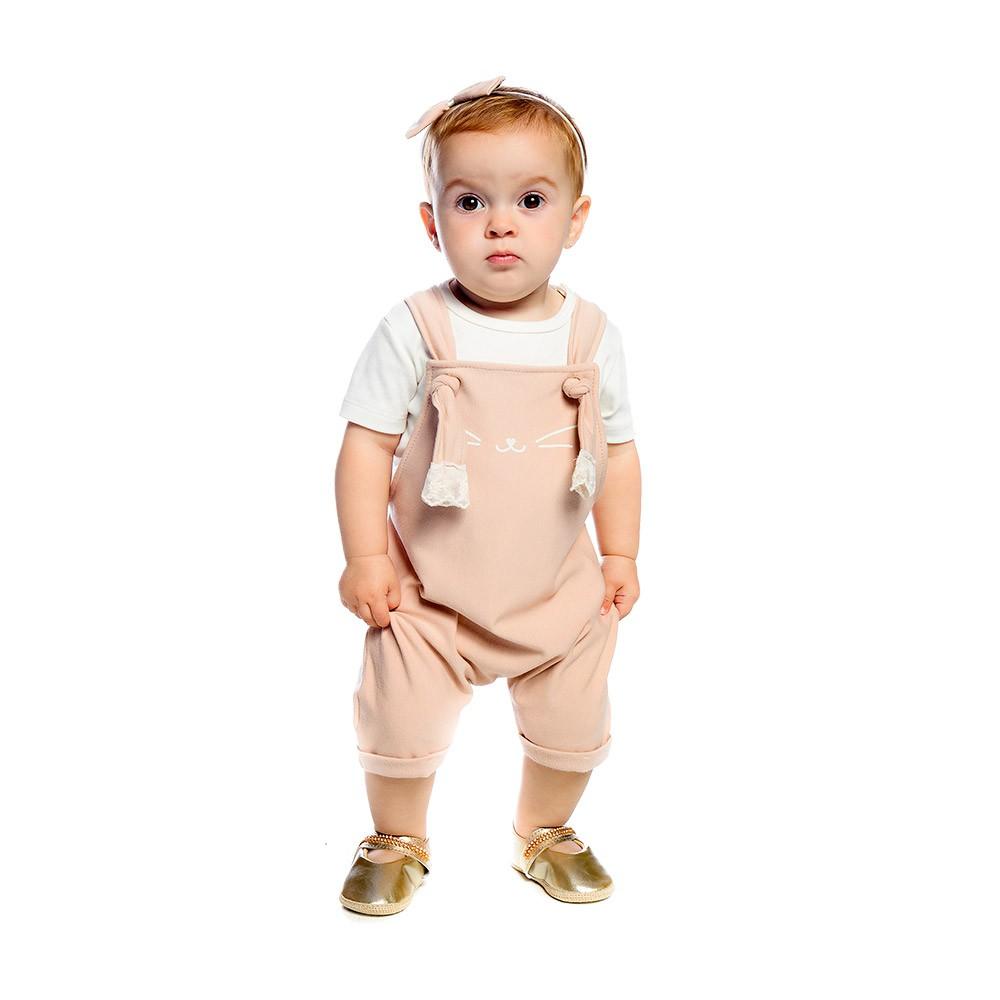 Jardineira Gatinha Baby Gut