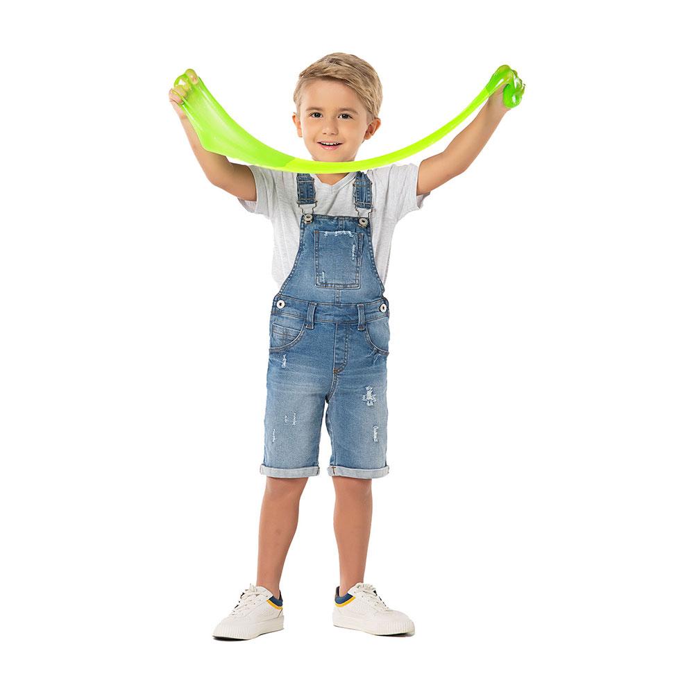 Jardineira Jeans Boys Mania Kids