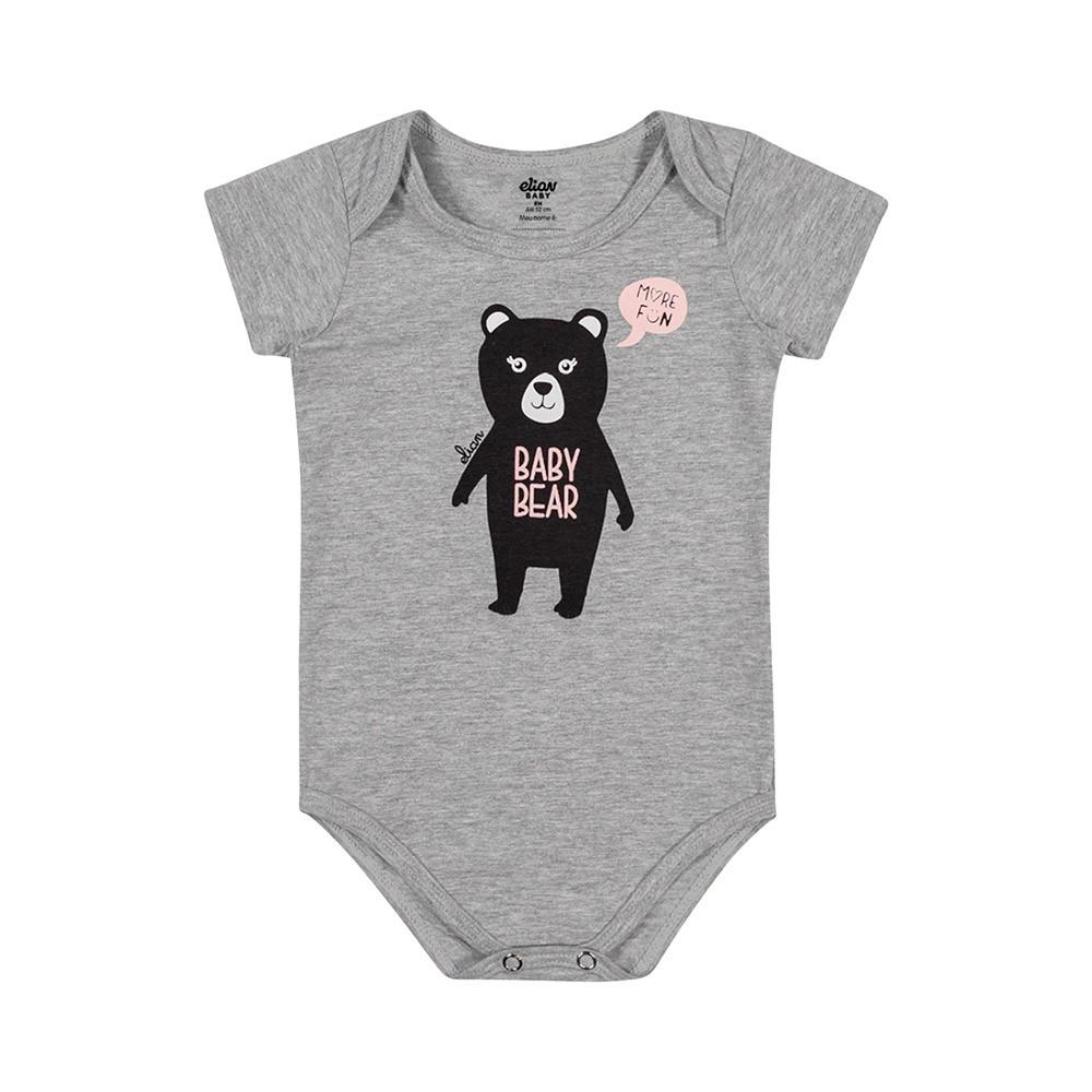 Kit Body Baby Bear 3 Peças Elian