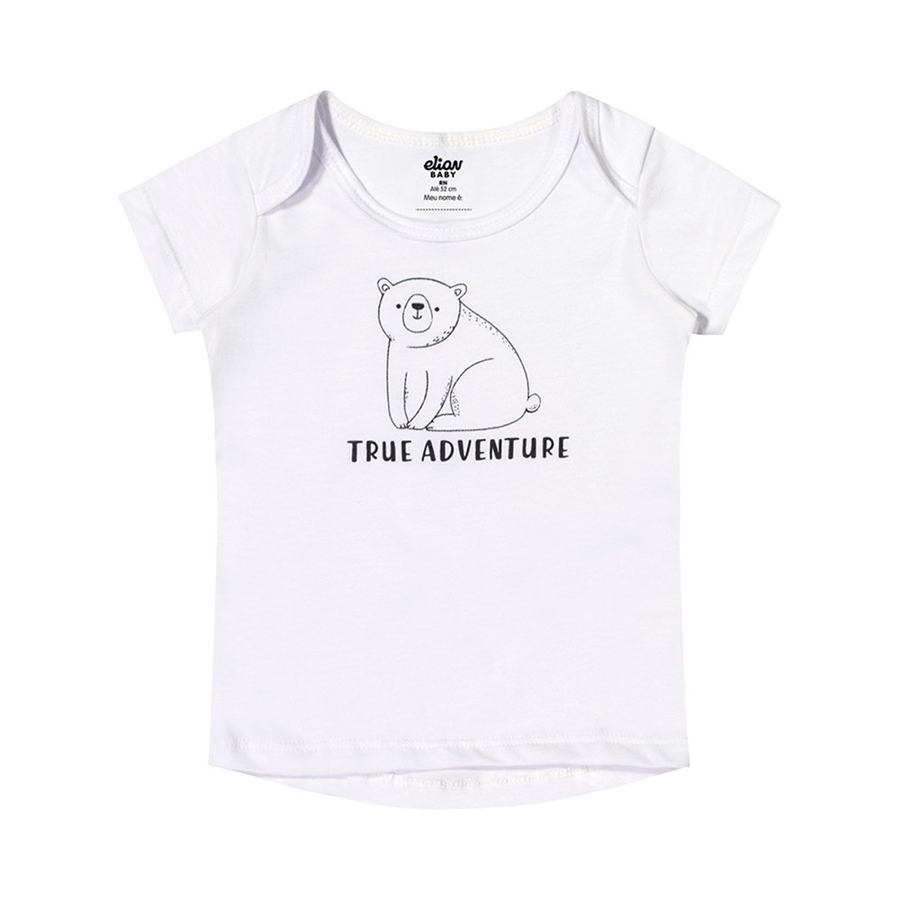 Kit Body True Adventure 4 Peças Elian