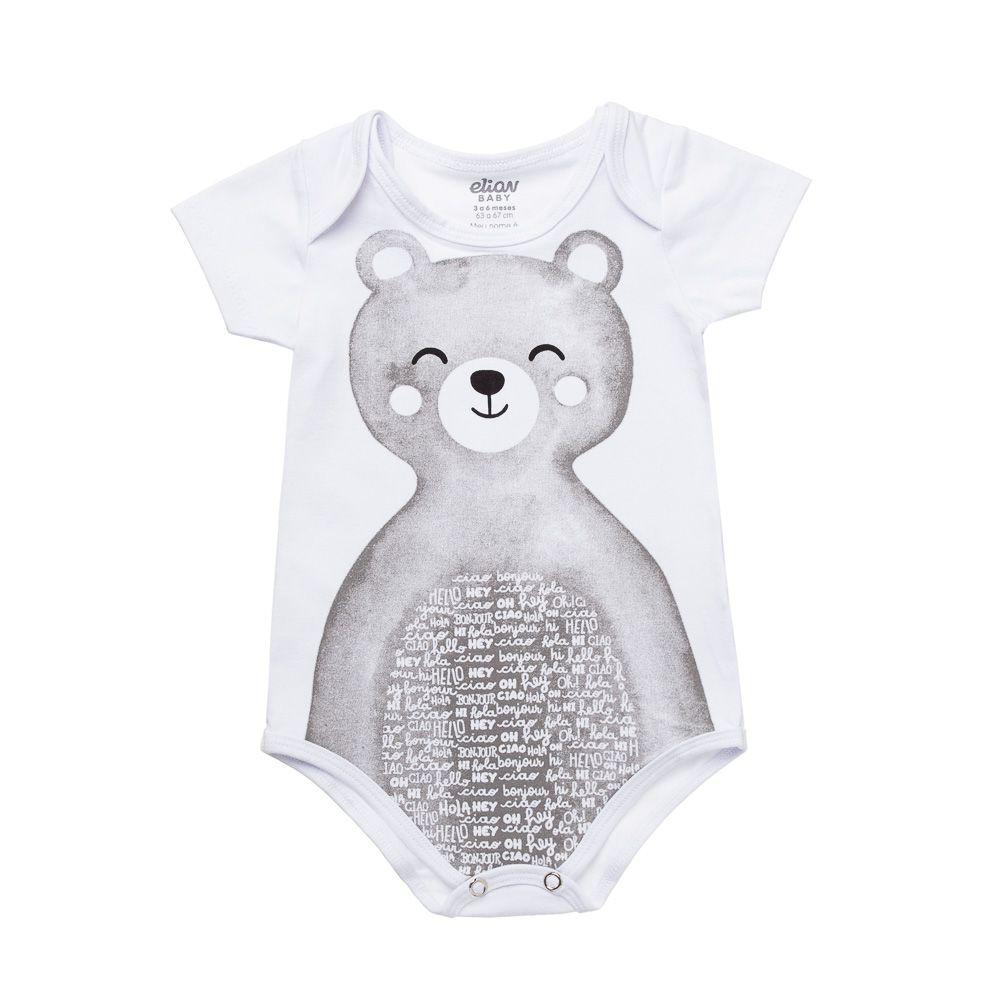 Kit  Body Urso 3 Peças Elian